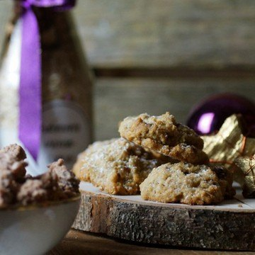 Rezept Gebrannte Mandel-Cookies