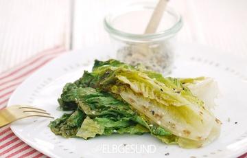 Rezept Gebratene Salatspalten mit Gomasio – einfach köstlich!