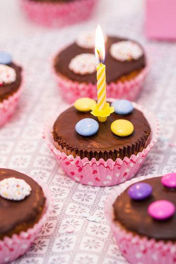 Rezept Geburtstagsmuffins