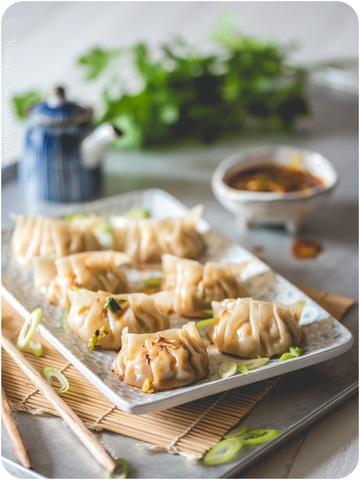 Rezept Gedämpfte Jiaozi mit Schweinefleischfüllung | 餃子 / 饺子