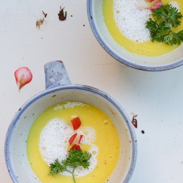 Rezept Geeiste Kartoffel-Buttermilch-Suppe