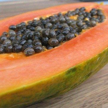 Rezept Geeiste Melonen-Papaya-Suppe mit Basilikum