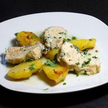 Rezept Gefilte Fisch mit Koriander-Kartoffeln