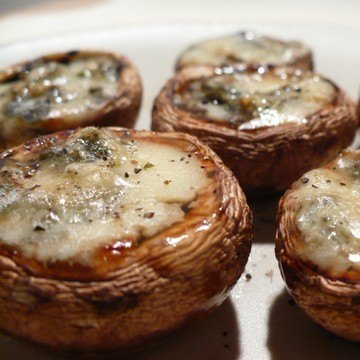 Rezept Gefüllte Champignons mit Gorgonzola und Honig