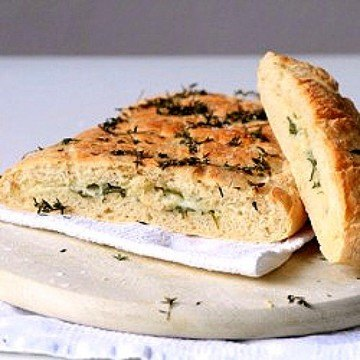 Rezept Gefüllte Focaccia mit Rucola und Mozzarella