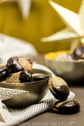 Rezept Gefüllte Mohnplätzchen mit Schokolade