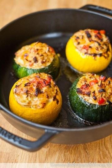 Rezept Gefüllte Ofen-Zucchini