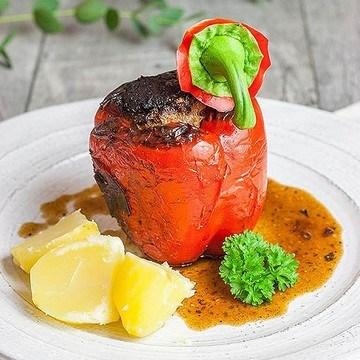 Rezept Gefüllte Paprika mit Hackfleisch à la Mama