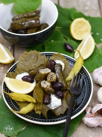 Rezept Gefüllte Weinblätter mit Sumach & Dill