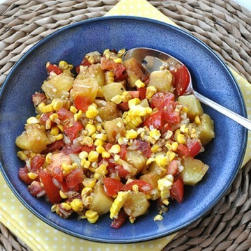 Rezept Gegrillte Ananas Salsa