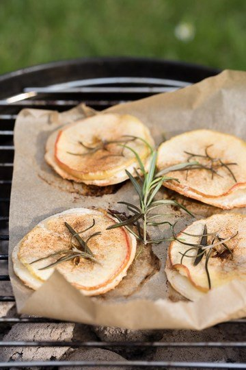 Rezept Gegrillter Flammkuchen