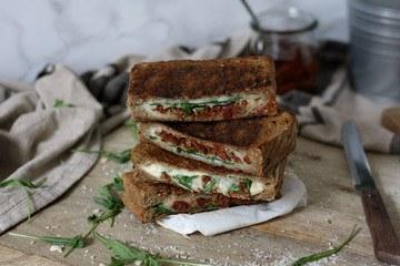Rezept Gegrilltes Käsetoast »Italien Style«