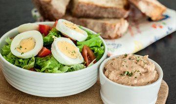 Rezept Gemischter Salat mit Thunfisch-Paste