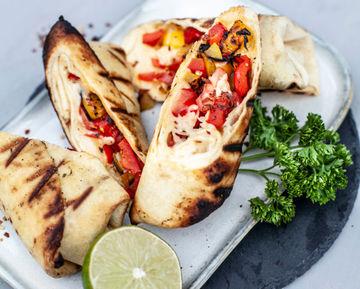 Rezept Gemüse-Burrito vom Grill