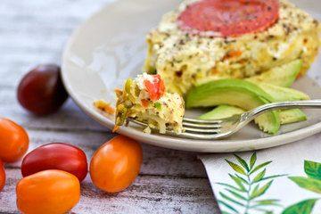 Rezept Gemüse-Frittata..genau das richtige für einen heißen Sommertag