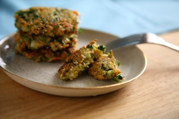 Rezept Gemüse Haferflocken Küchlein