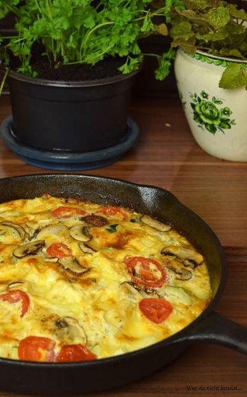 Rezept Gemüse-Omelett