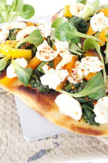Rezept Gemüse Pfannen Pizza