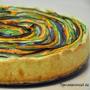 Rezept Gemüse-Tarte