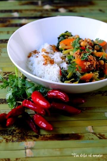 Rezept Gemüsecurry mit Kichererbsen