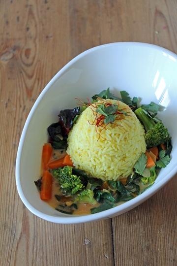 Rezept Gemüsecurry mit Mangold