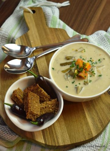 Rezept Gemüsesuppe aus dem Slowcooker