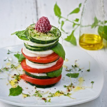 Rezept Gemüsetürmchen