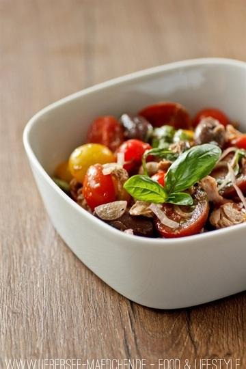 Rezept Gepimpter Tomatensalat nach Jamie Oliver