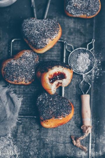 Rezept Germknödel Donuts