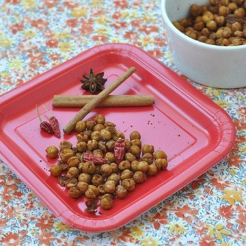 Rezept Geroestete Kichererbsen mit Zimt