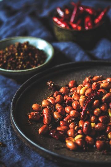 Rezept Geröstete Chili-Erdnüsse