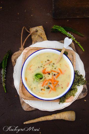 Rezept Geröstete Grießsuppe