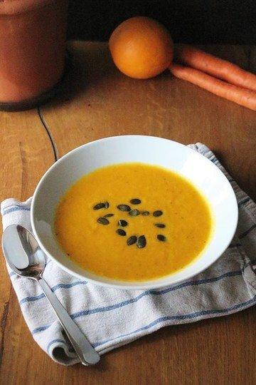 Rezept Geröstete Karotten - Ingwer - Suppe