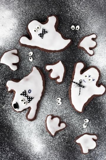 Rezept Gespensterparty mit Geistercookies