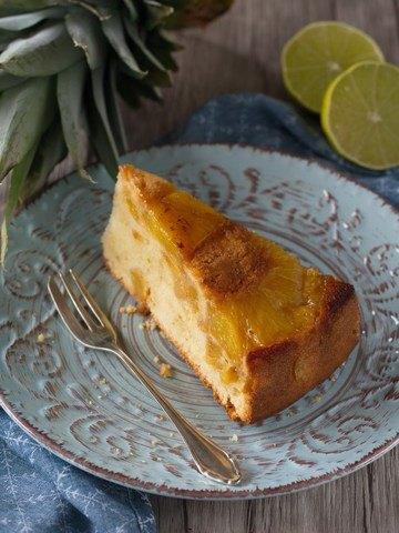 Rezept Gestürzter Ananas-Kuchen