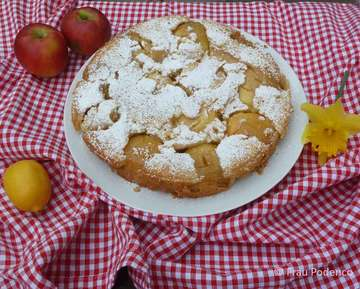 Rezept Gestürzter Apfelkuchen