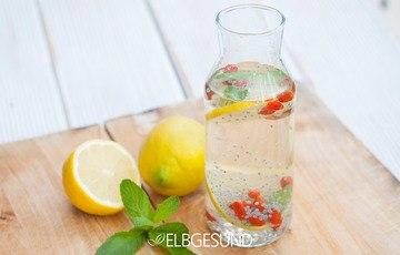 Rezept Gesunde Basilikumsamen-Limonade mit Wunderwirkung