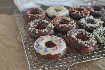 Rezept Gesunde Donuts aus dem Backrohr