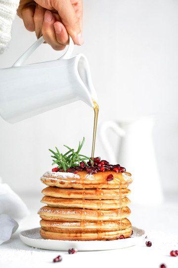 Rezept gesunde Pancakes – mein Grundrezept mit Dinkelmehl