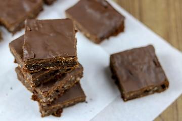 Rezept Gesunde Zucchini Brownies - vegan & zuckerfrei