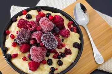 Rezept Gesunder Dinkel-Grießbrei mit Vanille