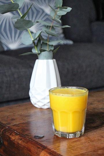 Rezept Gesunder Orangen-Kurkuma-Smoothie