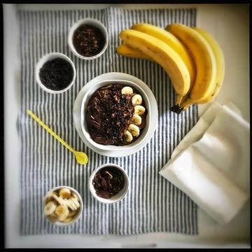 Rezept Gesundes Bananen Schokoladeneis ohne Zucker und Milch