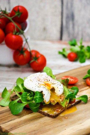 Rezept Gesundes Sandwich mit selbstgemachter Joghurtsoße
