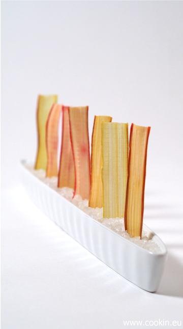Rezept Getrocknete Rhabarber-Chips