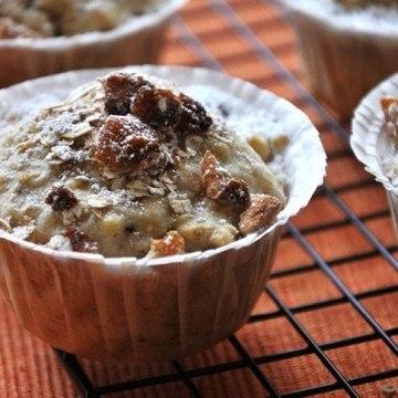 Rezept Gewürzmuffins mit Trockenfrüchten