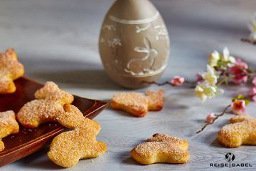 Rezept Gezuckterte Osterhasen aus Quark-Öl-Teig