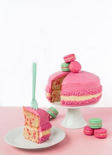 Rezept Giant Macaron Cake