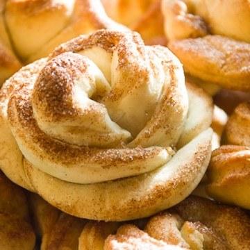 Rezept Ginger Zimtschnecken-Rosen