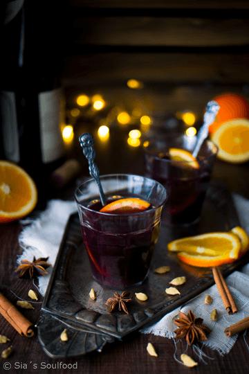 Rezept Glühwein & Weihnachtspunsch